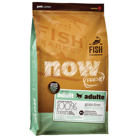NOW FRESH Small Breed Grain Free Fish Adult Recipe - 25 lbs