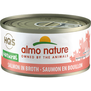 Almo Nature Complete HQS Salmon Recipe 24 x 70 gram cans