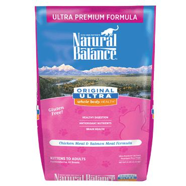 Natural Balance Original Ultra® Ultra Premium Dry Cat Food  15 lbs. bag - Naturally Urban Pet Food Shipping