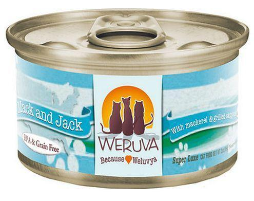 Weruva Mack and Jack – With Mackerel and Grilled Skipjack 24 x 5oz Cans - Naturally Urban Pet Food Shipping
