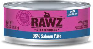 RAWZ Cat 96% Salmon Pate 24/156g - Naturally Urban Pet Food Shipping