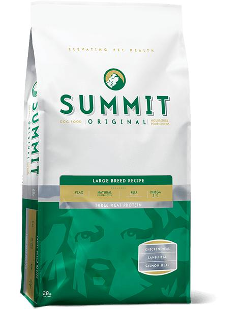 Summit - Three Meat Large Breed Adult Dog Recipe 28 lbs. - Naturally Urban Pet Food Shipping
