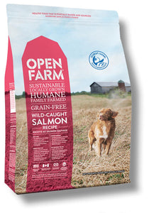 Open Farm Wild-Caught Salmon Recipe 24lbs - Pet Food Online by Naturally Urban