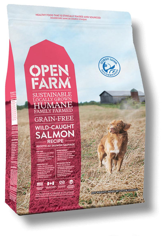 Open Farm Wild-Caught Salmon Recipe 24lbs - Naturally Urban Pet Food Shipping