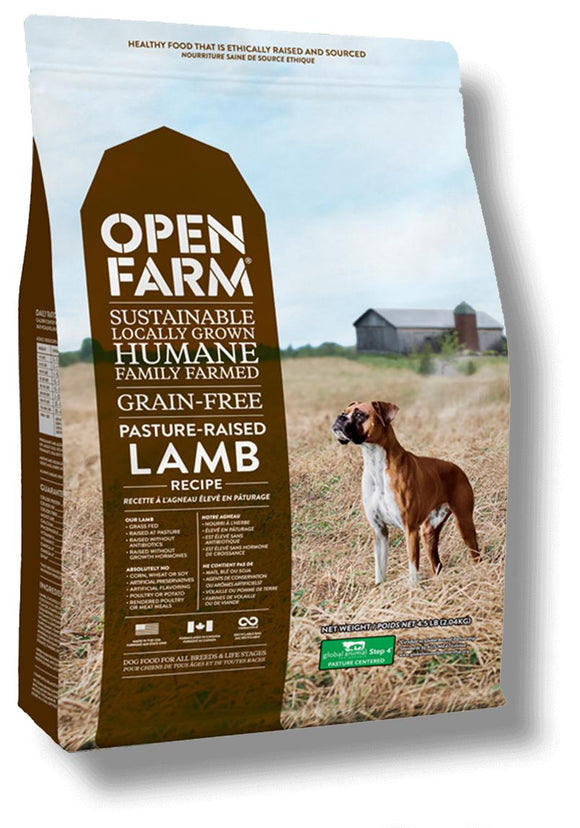 Open Farm Pasture Raised Lamb Recipe 24lbs - Naturally Urban Pet Food Shipping