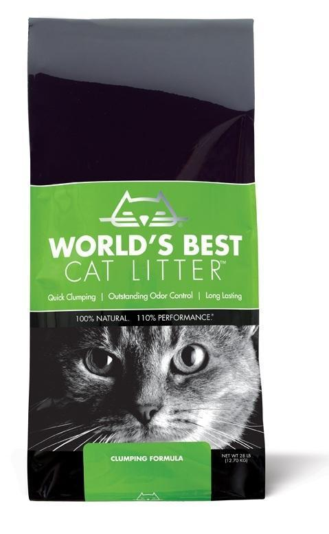 World's Best Cat Litter™ Clumping Formula 28 lbs. bag - Naturally Urban Pet Food Shipping