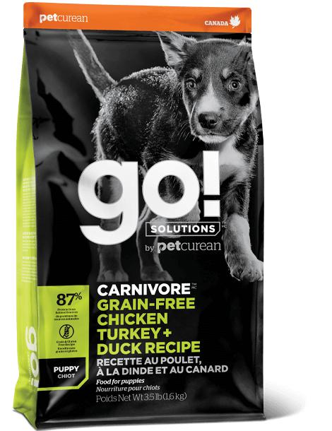 go! Fit Carnivore Puppy Recipe 22 lbs. - Naturally Urban Pet Food Shipping