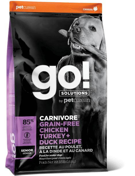 go! Carnivore Senior Recipe 22 lbs. - Naturally Urban Pet Food Shipping