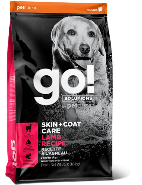 GO! SKIN + COAT Lamb  Recipe 25 lbs. - Naturally Urban Pet Food Shipping
