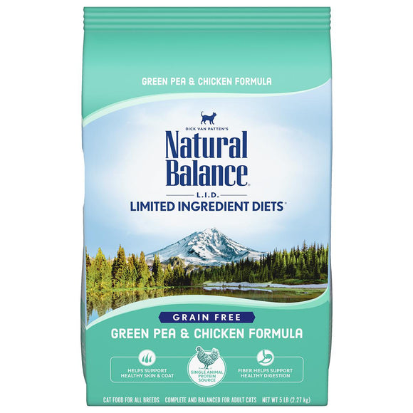 Natural Balance Green Pea & Chicken Dry Formula 10 lbs. bag - Naturally Urban Pet Food Shipping