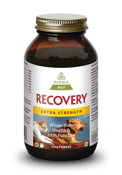 Purica Pet Recovery Extra Strength Powder - Free Shipping - Naturally Urban Pet Food Shipping