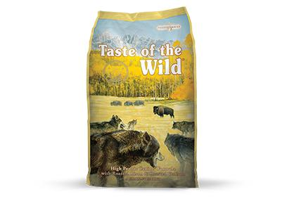 Taste of the Wild High Prairie Formula with Roasted Venison & Bison 30 lbs. bag - Naturally Urban Pet Food Shipping