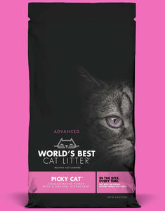 World's Best Cat Litter' Advanced Picky Cat 24 lbs. - Naturally Urban Pet Food Shipping