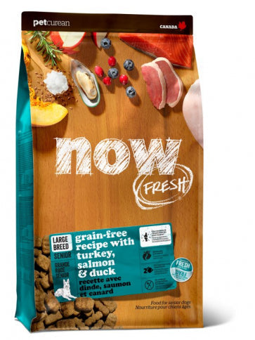 Now Fresh - Grain Free Large Breed Senior  Recipe 25 lbs.