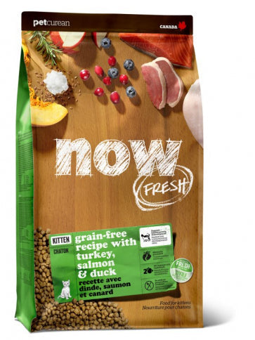 Now Fresh - Grain Free Kitten  Recipe 8 lbs.