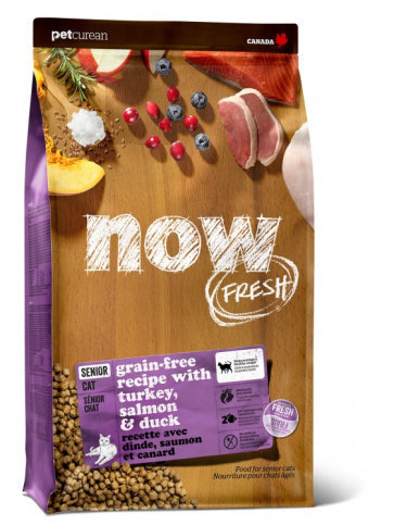 Now Fresh - Grain Free Senior Cat Food Recipe 16 lbs.