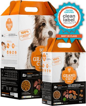 Canisource Gran Cru Dehydrated Pork & Lamb Formula 10Kg - Naturally Urban Pet Food Shipping