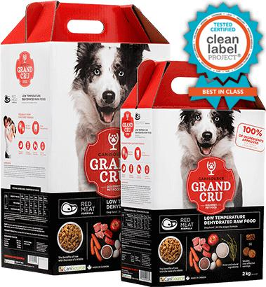 Canisource Gran Cru Dehydrated Red Meat Formula 10Kg - Pet Food Online by Naturally Urban