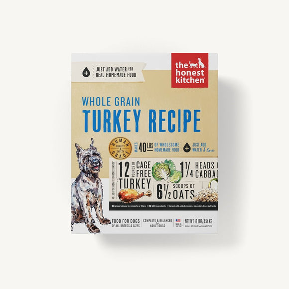 Honest Kitchen Dehydrated - Whole Grain Turkey Recipe, Keen Dog Food 10 lbs.-Honest Kitchen-Pet Food Online by Naturally Urban