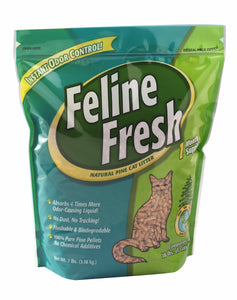 Feline Fresh Natural Pine Cat Litter 40 lbs ***cannot be sold by itself*** - Naturally Urban Pet Food Shipping