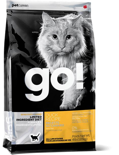 GO! Sensitivity Limited Ingredients Duck Recipe 16 lbs. - Pet Food Online by Naturally Urban