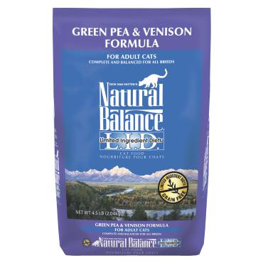Natural Balance Green Pea & Vension Dry Formula 8 lbs. bag - Naturally Urban Pet Food Shipping