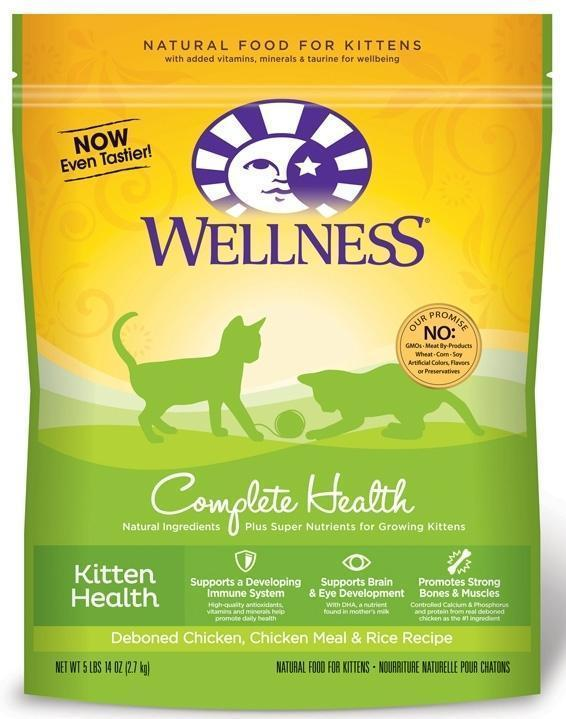 Wellness Complete Health Kitten Health 5lbs 14 ounces - Pet Food Online by Naturally Urban