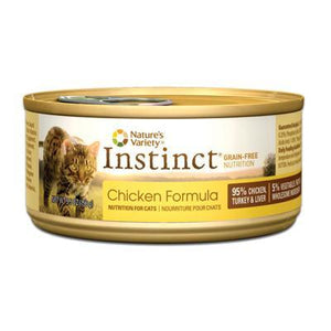 Nature's Variety Instinct Chicken Formula 12 x 5.5 oz.  cans - Pet Food Online by Naturally Urban