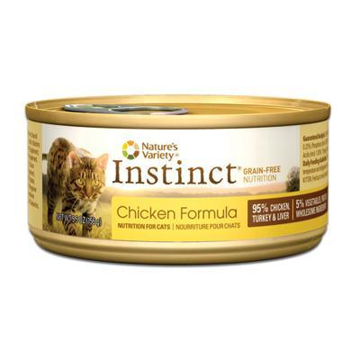 Nature's Variety Instinct Chicken Formula 12 x 5.5 oz.  cans - Naturally Urban Pet Food Shipping