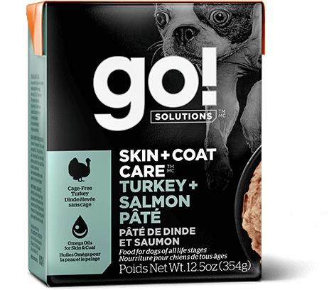 GO! Skin & Coat Turkey & Salmon Pate 12/12.5OZ - Naturally Urban Pet Food Shipping