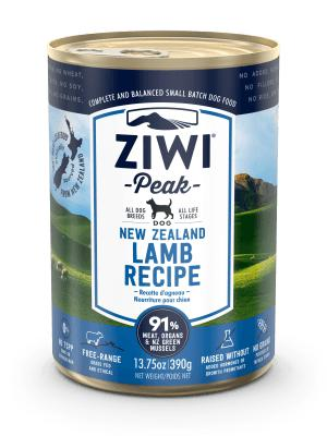Ziwi Peak Moist Lamb For Dogs 12 x 13.75 oz cans - Naturally Urban Pet Food Shipping