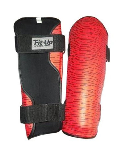 181D - RED Shin Guards
