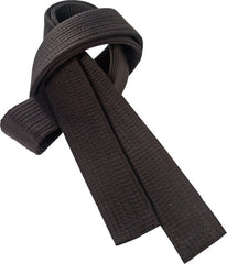 377 - Embroidered Black Belts