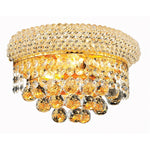 Modern Crystal Wall Lamp Chrome Wall Sconce Bedside Living Room Wall Light Lamp Guaranteed 100%