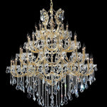 Lighting Maria Theresa K9 Crystal Chandelier Lighting Gold/Chrome Large Chandeliers Light Lighting