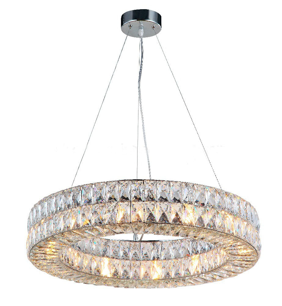 Lighting LED K9 Crystal Chandelier Lustre Modern Chandeliers Light Lighting Living Room Chandeliers