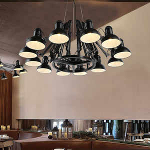 Vintage Pendant Lights Retro Cage Pendant Lamp Modern Restaurant Lighting Wrought Iron Kitchen Dining Room Bar Shop Hanging Lamp