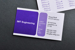 Corporate Business Cards (Two-Sided)