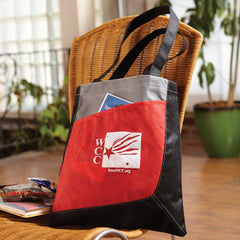 Multi-Colored Non-Woven Tote