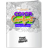 Color Comfort – Hues of Happiness (Flowers) Adult Coloring Book