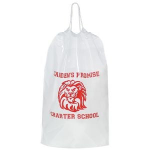 "Cotton Cord Drawstring Bag (12"" x 16"" x 4"")"