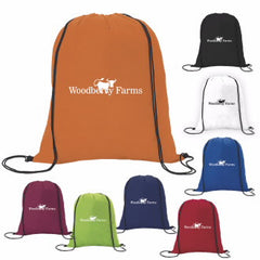 Non-Woven Drawstring Backpack - 100 Quantity