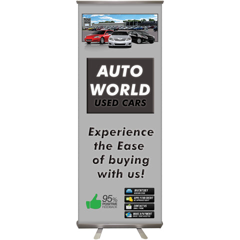 Retractable Banner with Hardware