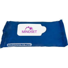 Wet Wipes in Resealable Pouch - 100 Quantity