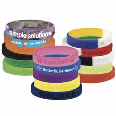 Silicone Awareness/Fundraising Bracelets