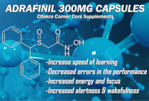 ADRAFINIL - MENTAL FOCUS, CLARITY, ENERGY, AND TOP PICK NOOTROPIC - Chakra Corner best US Kratom and bulk pricing nootropics and supplement stacks