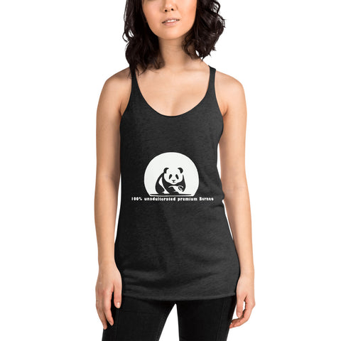 The Playful Panda Women's Racerback Tank - Chakra Corner best US Kratom and bulk pricing nootropics and supplement stacks