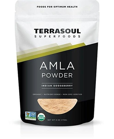 AMLA POWDER INDIAN GOOSEBERRY 6 OZ (170 GR) - Chakra Corner best US Kratom and bulk pricing nootropics and supplement stacks