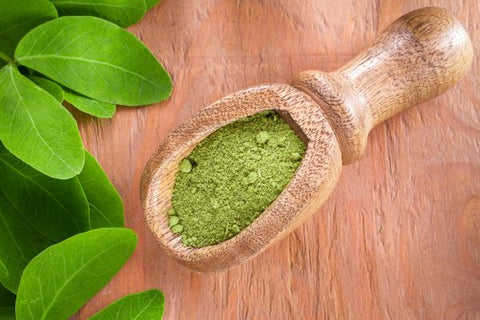 MORINGA LEAF POWDER (MIRACLE TREE) BEST VALUE & QUALITY, NON GMO - Chakra Corner best US Kratom and bulk pricing nootropics and supplement stacks