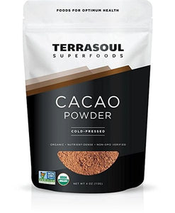 CACAO POWDER (COLD-PRESSED) 4 OZ/113 GR